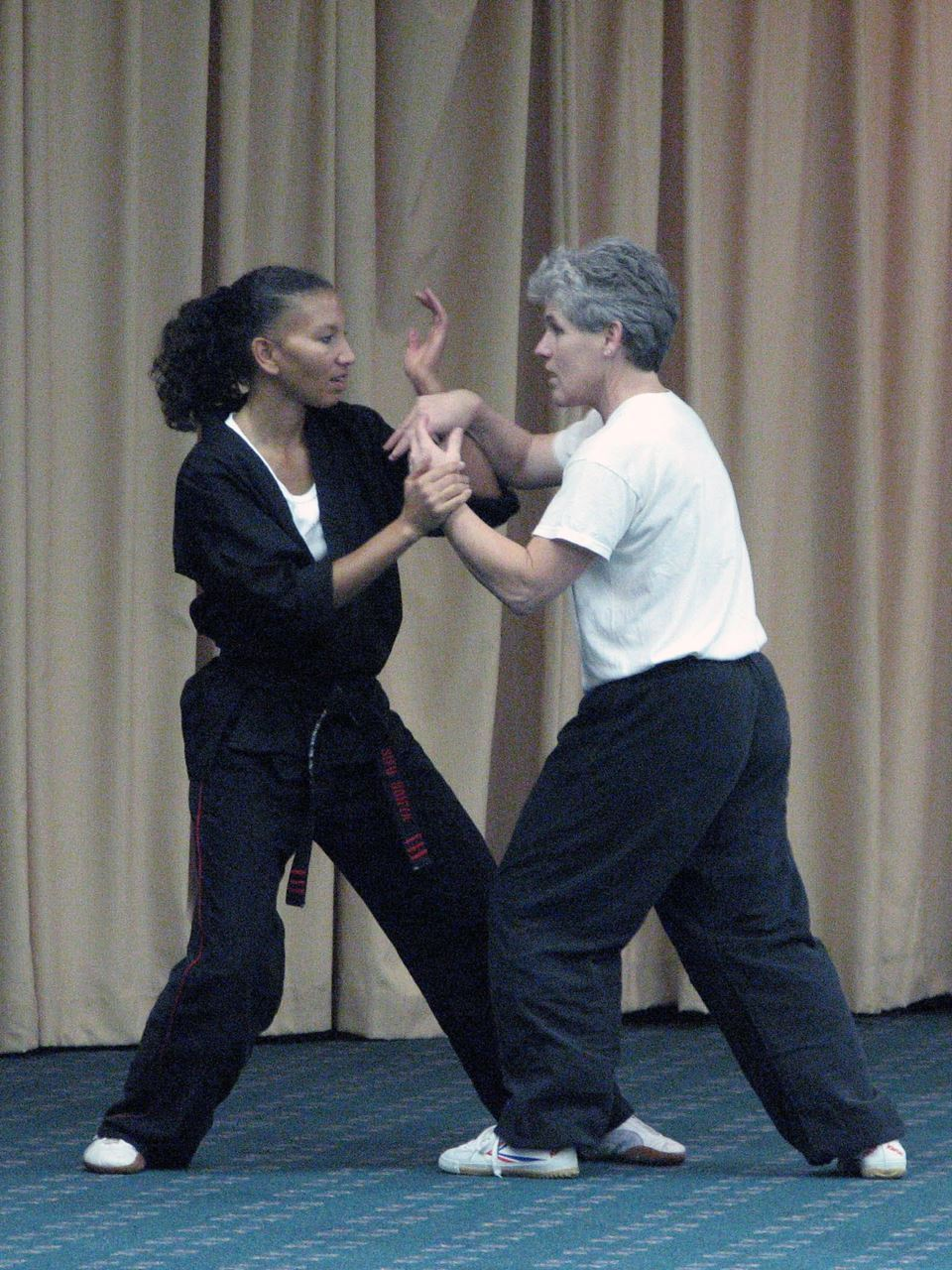 Sonia Richardson and Melinda Johnson, 2007